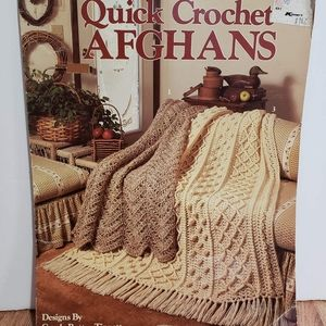 Quick Crochet Afghans  3 Pattern Booklet
